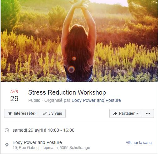 stress reduction WS